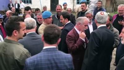 Milletvekillleri Arslan ve Kılıç, arazi kavgasında 6 kişinin öldüğü köyde taziye ziyaretinde bulundu