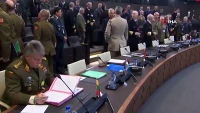 """- NATO Genelkurmay Başkanları Brüksel'de Toplandı - Orgeneral Peach: """"bu Birlik, Rusya'nın Kırım'ın Yasa Dışı Ve Gayrimeşru İlhakını Kabul Etmiyor"""""""