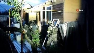 guvenlik gucleri -  - Rusya'da DEAŞ'ın Hücre Evine Operasyon