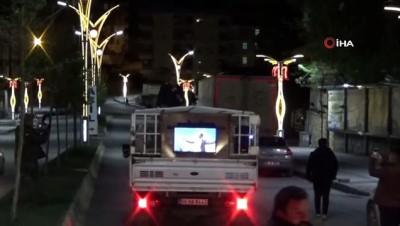 festival -  Sahur vakti Hakkari sokaklarında albüm tanıtımı