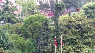 saganak yagis -  Samsun'da sağanak yağış