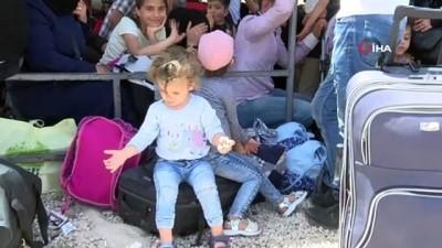 Suriyeliler bayram ziyareti için ülkelerine dönüyor