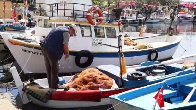 Taze balık, küçük tekne balıkçılarından - TEKİRDAĞ