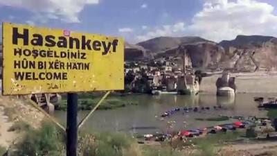 baskent - Turistler için Hasankeyf'te hazırlanan 'mağara otel' yazın açılıyor - BATMAN