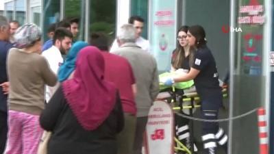 112 acil servis -  3. katın balkonundan düşen küçük çocuk ağır yaralandı