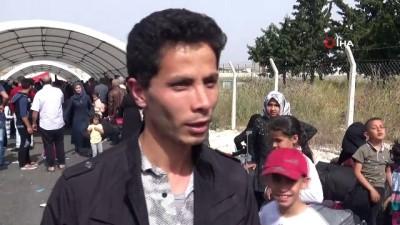 5 Bin Suriyeli Ramazan Bayramı için ülkesine gitti