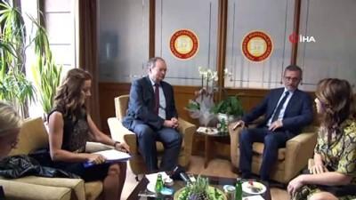 AB Türkiye Delegasyonu Başkanı Christian Berger Parlamento Muhabirleri Derneği'ni ziyaret etti