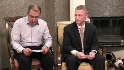 ABD Adana Konsolosu Alejandro Baez'den gazetecilere iftar - ADANA