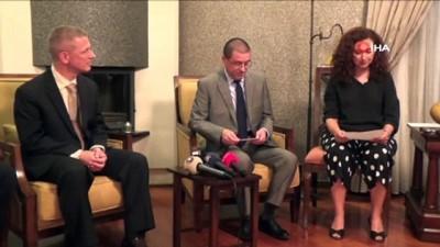 ABD Adana Konsolosu Baez, basın mensuplarıyla iftarda bir araya geldi