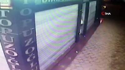 Alanya'da 1 milyon liralık kuyumcu soygunu güvenlik kameralarına yansıdı