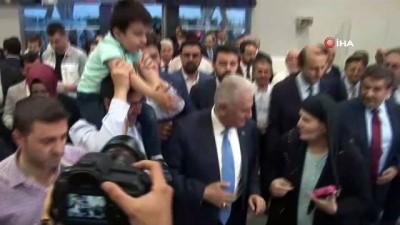 """enflasyon -  Binali Yıldırım: """"Hep beraber İstanbul için gece gündüz demeden ter dökmeye, çalışmaya söz veriyorum"""""""
