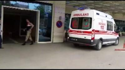 Boynuna tülbent dolanan bebek tedavi altına alındı - SİİRT