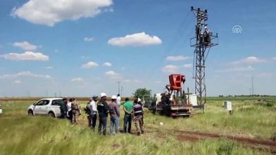 Dicle Elektrik'ten drone ile kaçak trafo operasyonu - ŞANLIURFA