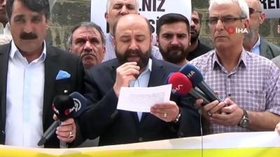 basin aciklamasi -  Diyarbakır'dan Davutoğlu'na tepki