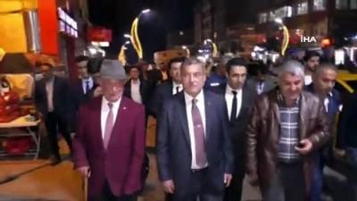 Emniyet Genel Müdürü Uzunkaya'ya Hakkari gecelerine katıldı