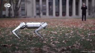 Havada takla atan robot