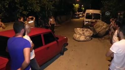 Hırsızlık şüphelisi kaza yapınca yakalandı - ADANA