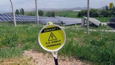 Kızılören Belediyesi güneş enerjisinden 300 bin lira kar etti - AFYONKARAHİSAR