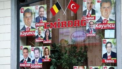 Türk adayların seçim heyecanı - BELÇİKA