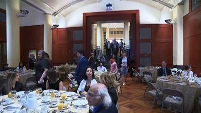 sivil toplum - Türkiye'nin Washington Büyükelçiliğinde UNRWA'ya destek gecesi - WASHINGTON