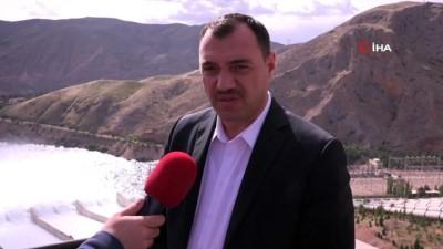 Vali Çetin Oktay Kaldırım: 'Keban Barajı, 6 milyar kilovat saat elektrik üretiyor'
