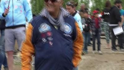 11 farklı ülkeden gelen ralliciler Kars'ta buluştu