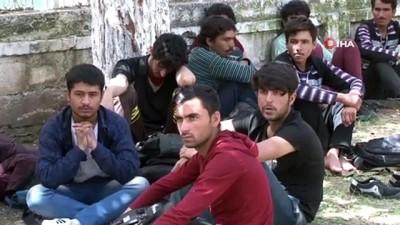 Adana'da 57 kaçak göçmen yakalandı
