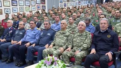 Akar ve TSK'nin komuta kademesi Konya'da