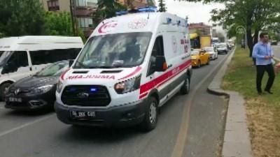 Başkentteki trafik kazasında yaya ağır yaralandı - ANKARA