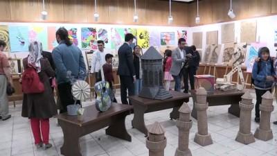 BİLSEM öğrencileri resim sergisi açtı - BİTLİS