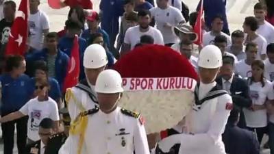 CHP Spor Kurulu'ndan Anıtkabir ziyareti - ANKARA