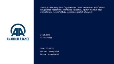 FETÖ'nün 'Samsun bölge arama tarama mesulü'ne tutuklama