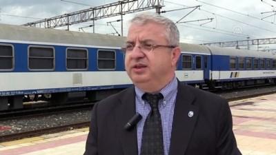 muhabir - 'Filibe ile Edirne tren seferi ekonomiyi canlandıracak' - EDİRNE