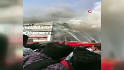 - Hindistan'da Feci Yangın: 16 Ölü