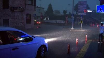 saganak yagis -  İstanbul'da sağanak yağış etkili oluyor Haberi
