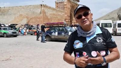 muhabir - Konuk ralliciler İshak Paşa Sarayı'na hayran kaldı - AĞRI