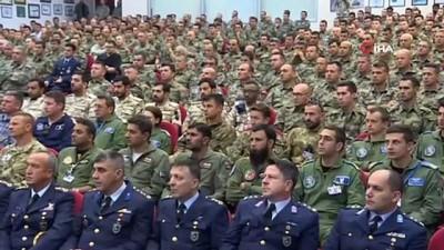 """Milli Savunma Bakanı Akar: """"Türkiye'nin NATO ile ilişkileriyle alakalı kimsenin olumsuz bir şey söylemeye hakkı yok"""""""