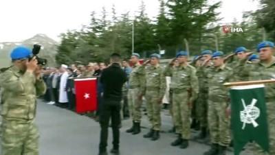 Şehit Piyade Onbaşı Uzman Çavuş Köklü için Hakkari'de tören düzenlendi