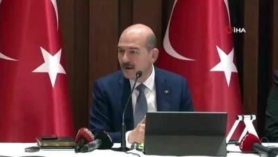 """Bakan Soylu: """"İstanbul tarihinde ilk defa 55 binin üzerinde polise çıkmış olacağız"""""""