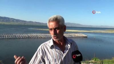 Baraj havzası doldu, istimlak alanındaki ağıl ve tarlalar suya gömüldü