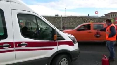 Bolu'da, 1 kişinin öldüğü feci kaza kameralara anbean yansıdı