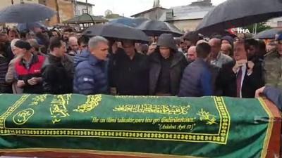 Cesedi 13 gün sonra bulunan muhabir son yolculuğuna uğurlandı