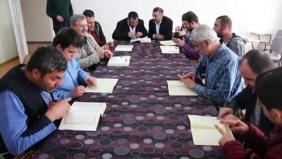 Engeli, okuma yazma ve Kur'an öğrenmeye engel olmadı - ELAZIĞ