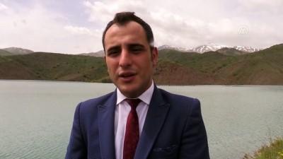 muhabir - Erzincan'da baraj ve göletlerde bahar bereketi