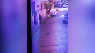 Kadın hırsızlar güvenlik kamerasında