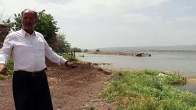 muhabir - Keban Barajı'nda su seviyesinin yükselmesi - ELAZIĞ