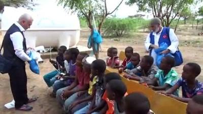 muhabir - Savaş mağduru Somalili yetimlere Türkiye'den yardım eli - ADDİS ABABA