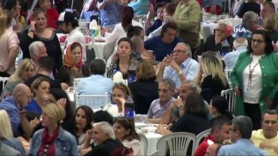 iftar sofrasi -  Türkiye'nin en kalabalık kapalı alan iftarı Büyükçekmece'de gerçekleşti