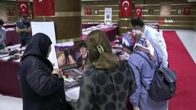 """Ürgüp'te """"Şehit Emanetleri"""" sergisi açıldı"""