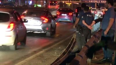 E-5'te bir dizinin set aracı kaza yaptı, 1 ölü